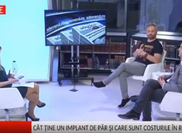 Dr Panagiotis Vogiatzis despre implant de par - Adevarul live