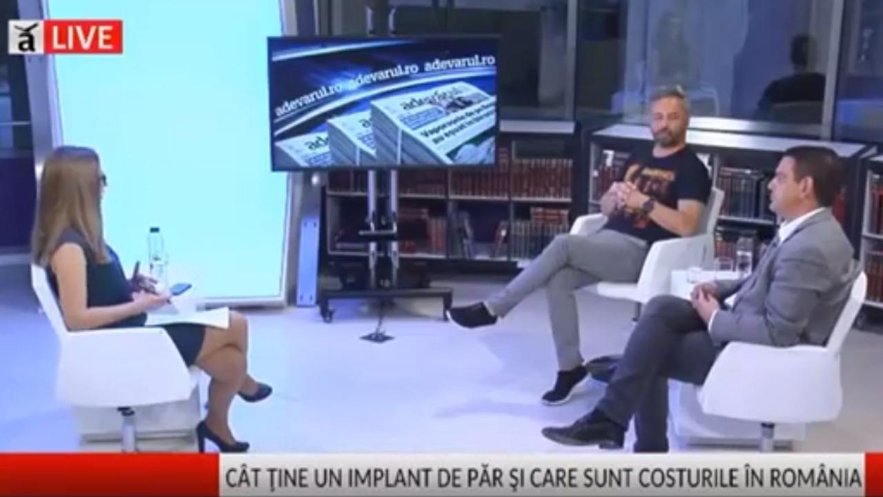 Dr Panagiotis Vogiatzis despre implant de par – Adevarul live